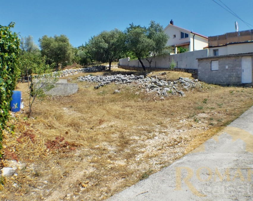 Building land with permit | Trogir | Mastrinka